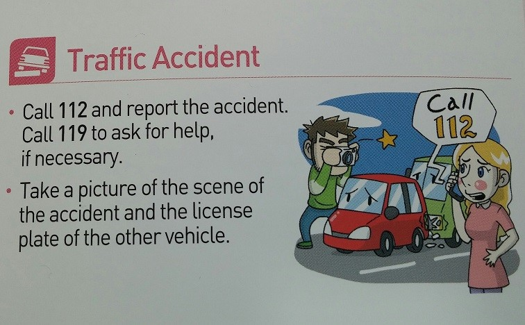 What to do after a Car Accident (in Korea) | KLAWGURU COM
